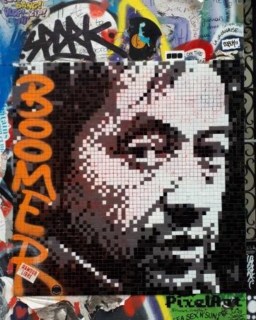 Street art @Rue de Verneuil, Paris