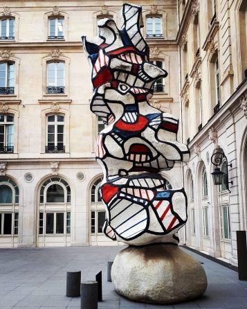 """Le reseda"" by Jean Dubuffet @ Paris"