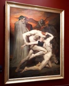 """""""Dante et Virgile"""" by William Bouguereau @ Musée d'Orsay"""