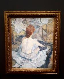 """""""La femme aux gants"""" by Henri De Tolouse Lautrec @ Musée d'Orsay"""