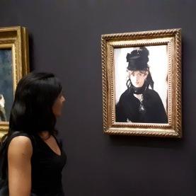 Berthe Morisot by Edouard Manet @ Musée d'Orsay