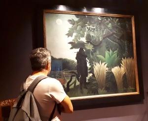 """""""La charmeuse de serpents"""" by Henri Rousseau @ Musée d'Orsay"""