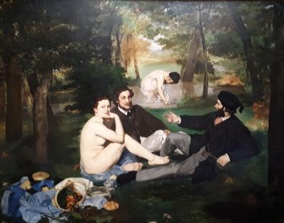 """""""Le Dejeuner sur l'herbe"""" by Edouard Manet @ Musée d'Orsay"""