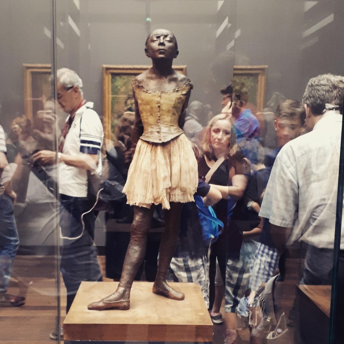 """""""Petite danseuse de quatorze ans"""" by Edgar Degas @ Musee d'Orsay"""
