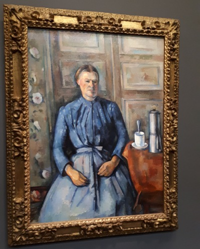 """La femme e la cafetiere"" by Paul Cezanne @ Musee d'Orsay"