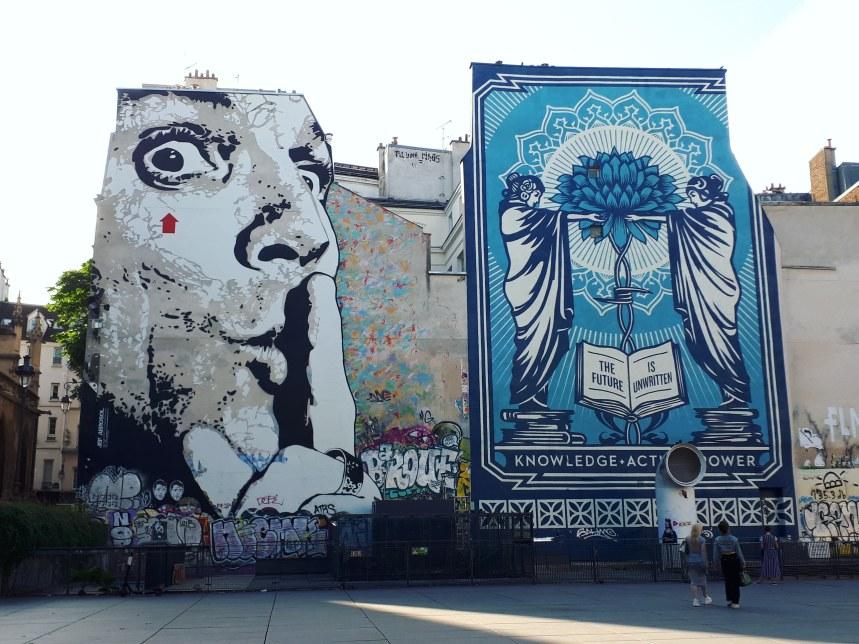 Jef Aerosol & Obey Giant @ Fontana Stravinsky