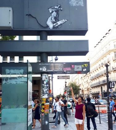 Banksy @ Rue Rambuteau