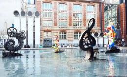 Jean Tinguely e Niki de Saint Phalle @ Fontana Stravinsky