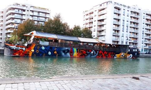Street art by Marko93 sulla Senna