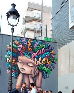 Streetart by Vinie Graffiti @ Ourcq