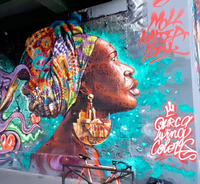 Streetart by Moh Awudu @ Ourcq