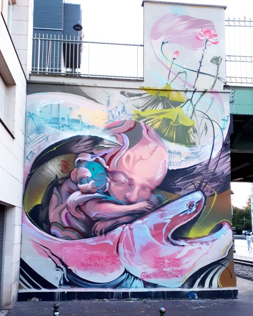 Streetart @ Ourcq