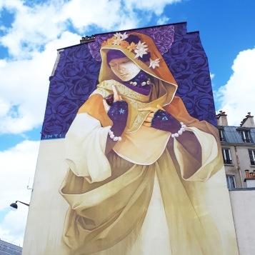 Street art by Inti