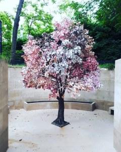"""""""Paradis"""" by Fabrice Hyber @ """"Nous les arbres"""", Fondation Cartier, Paris"""