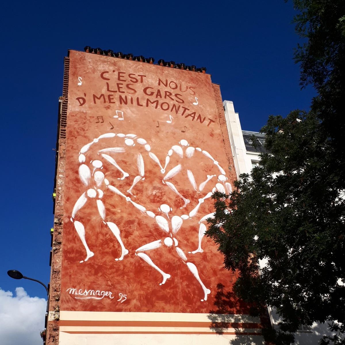 Street art by Mesnager @ Oberkampf, Paris