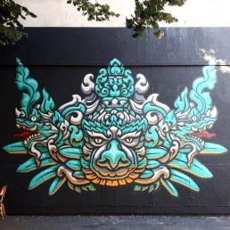 Street art by Theo Vallier @ Oberkampf, Paris