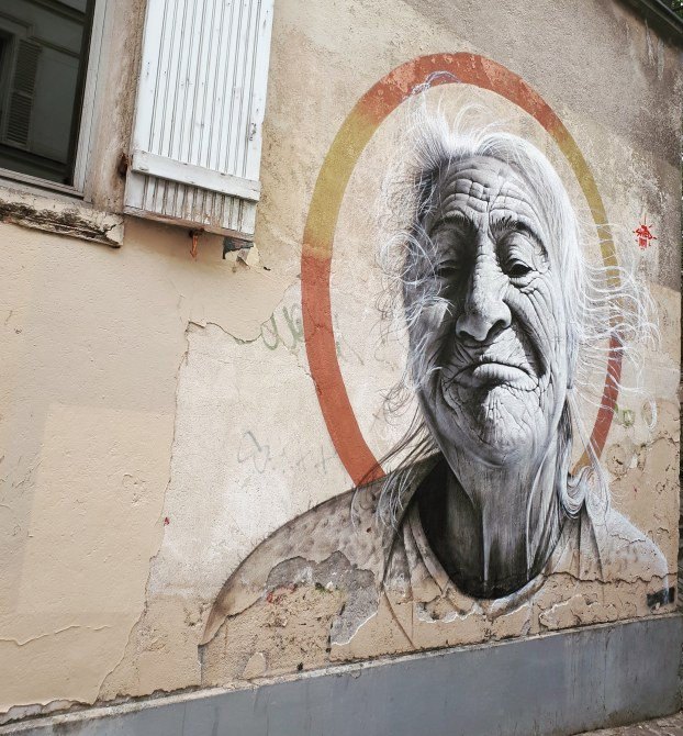 Streetart by Swed Oner in Montmartre