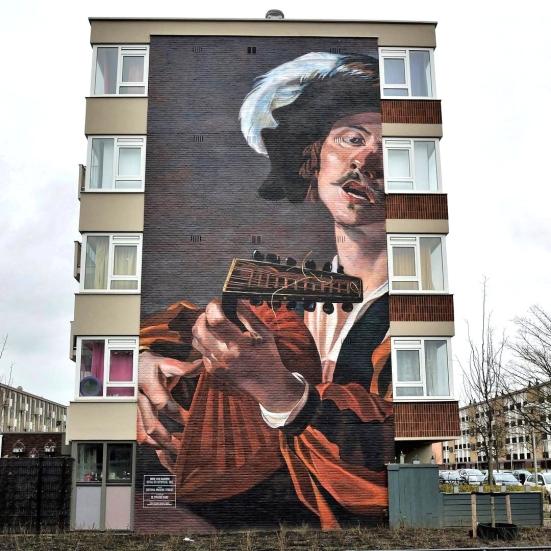 """""""The Lute Player"""" by De Strakke Hand @ Utrecht, Netherlands"""