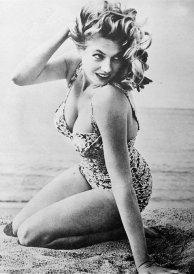Anita Ekberg. 1953