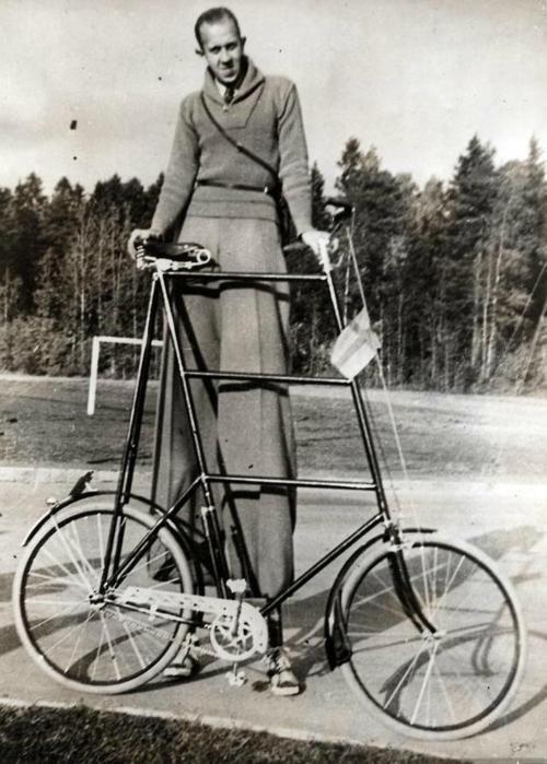 Bicicletta per persone alte
