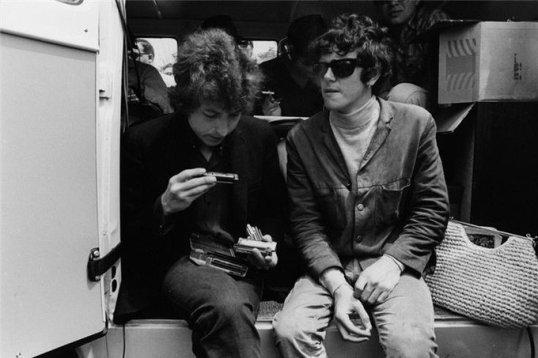 Bob Dylan e Donovan, 1965