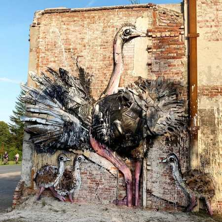 Bordalo II @ Varel, Germany