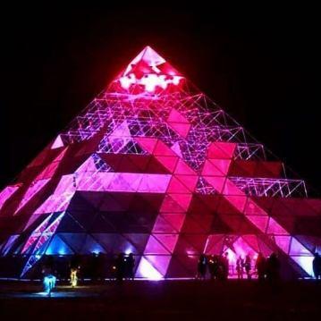 Burning Man 2019. Grand Pyramid by PlayAlchemist