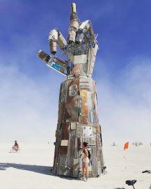Burning Man 2019. ILY by Dan Mountain