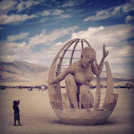 Burning Man 2019. Mariposita by Chris Carnabuci