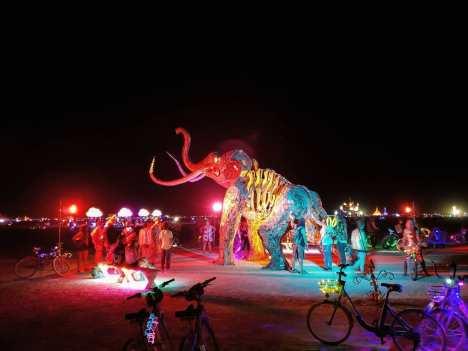 Burning Man 2019. Monumental Mammoth by Tahoe Mack