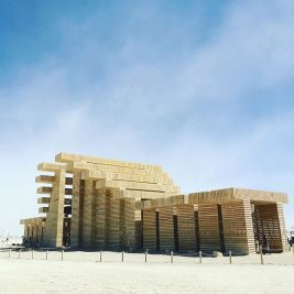 Burning Man 2019. Temple of Direction by Geordie van der Bosch