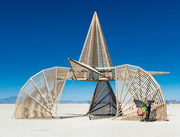 Burning Man 2019. The Reactor Project by Assaf Allouche and team