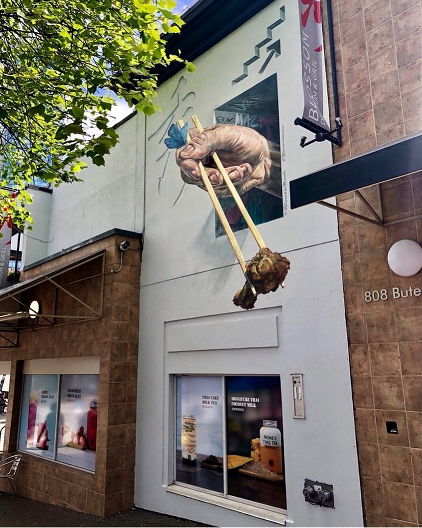 Canadian Murals @ Vancouver, Canada
