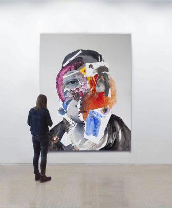 Head VI (2018) by Daniel Martin
