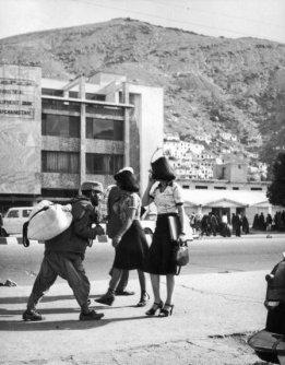 Donne afgane con gonne corte e tacchi alti, Kabul, 1978