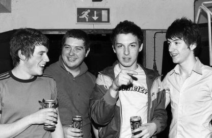 Gli Arctic Monkeys giovanissimi