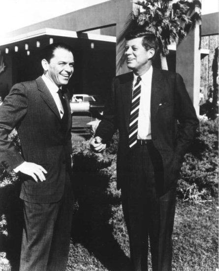 John F. Kennedy & Frank Sinatra, 1960