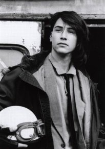 Keanu Reeves giovane