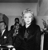 Marilyn al Savoy Hotel, Londra, 1956