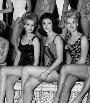 Miss Finland, Miss France e Miss Germany, 1963