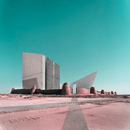 Mohammad Hassan Forouzanfar - Libeskind's National Holocaust Museum on the ruins of Rstam Castle
