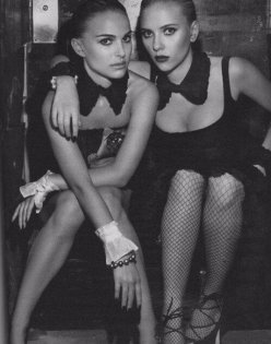 Natalie Portman e Scarlett Johansson