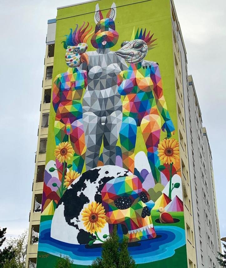 Okudart @ Berlin, Germany