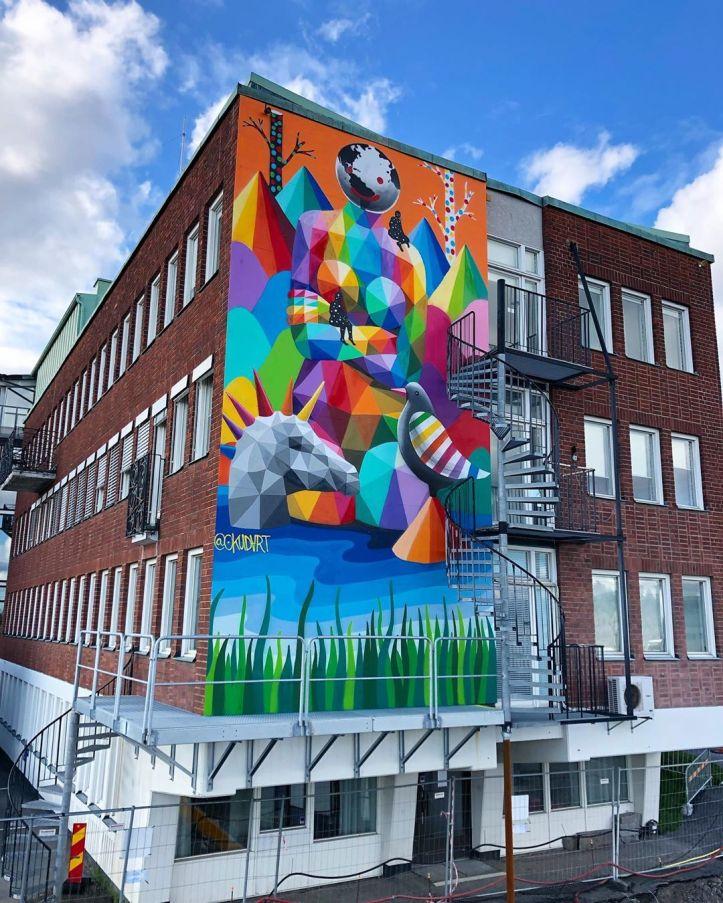 Okudart @ Stockolm, Sweden