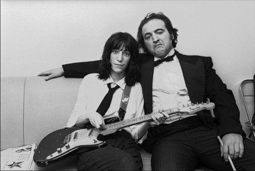 Patti Smith e John Belushi, 1976