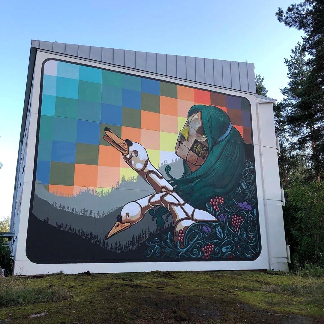 Pixel Pancho @ Espoo, Finland