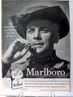 Pubblicità della Marlboro, 1955