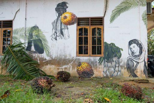 """""""REWILD"""" by Escif @ Sumatra, Indonesia"""