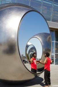 """Seeing Spheres"" by Olafur Eliasson @ San Francisco"