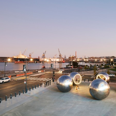 """Seeing Spheres"" by Olafur Eliasson @ San Francisco"